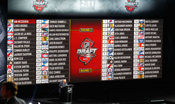Hockey draft order