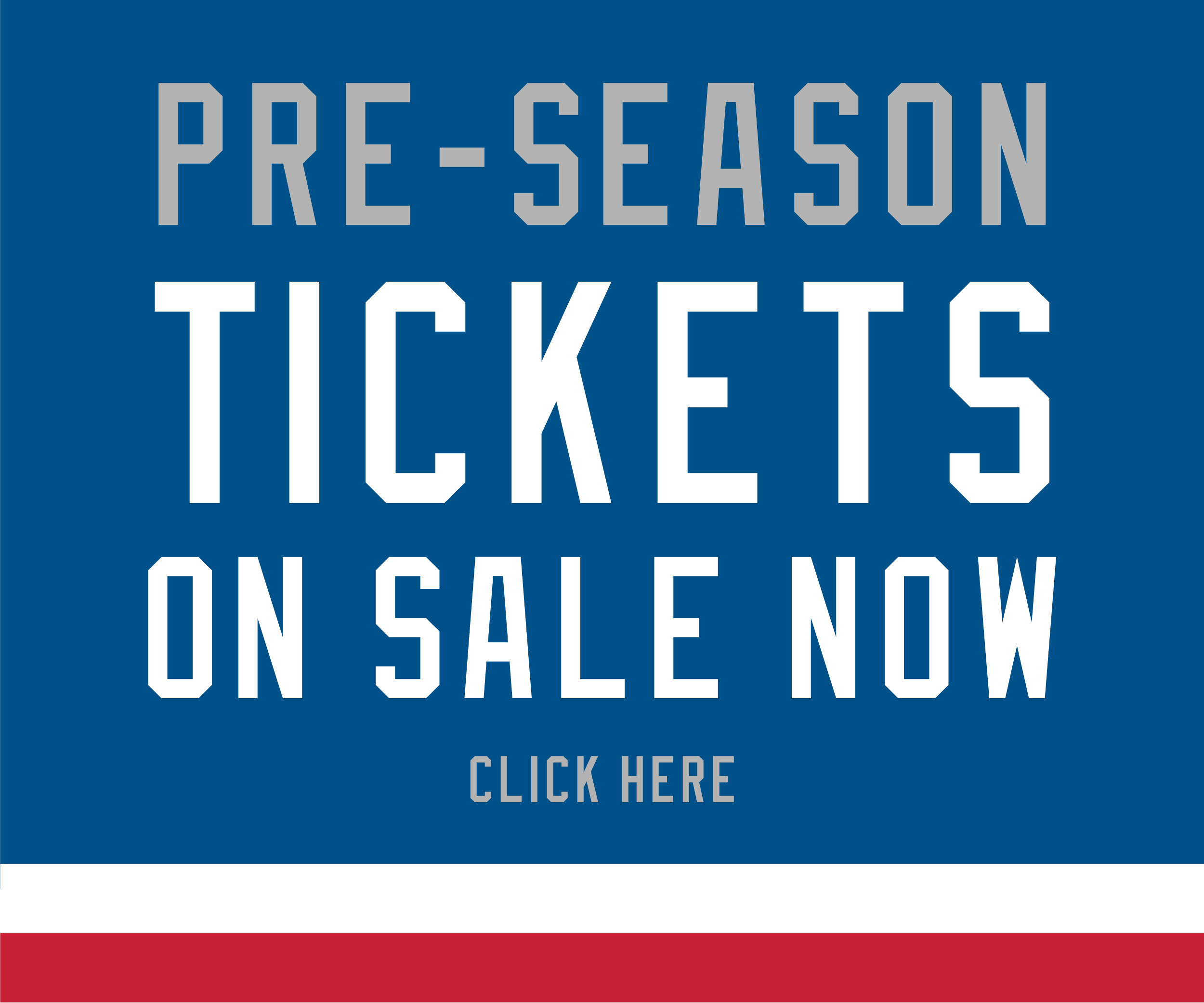 Preseason Individual Tickets on Sale Now