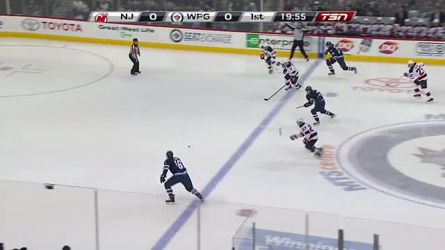 Ladd puts the Jets on the board quickly