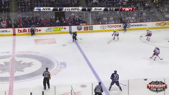 Miettienen gives the Jets the lead