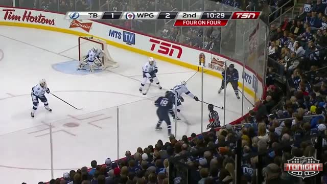 Enstrom increases the lead