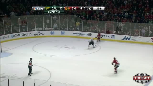 Stalberg gives the Blackhawks an early lead