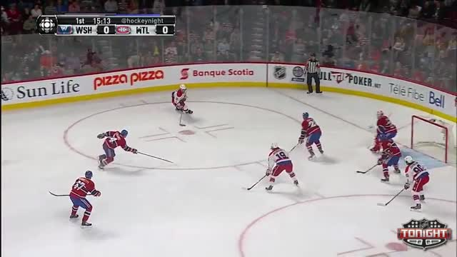 Ovechkin puts the Caps on the board