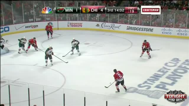 Bickell lays down the hit
