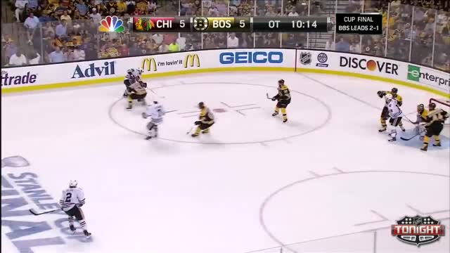 Crawford makes a nice save in overtime
